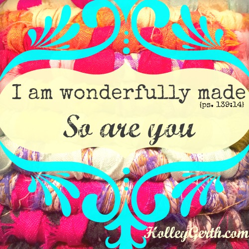 Redemption doesn't mean getting rid of who we are; it means transforming everything about us to be more like Jesus. http://holleygerth.com