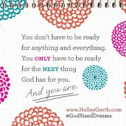 God Sized Dream 3