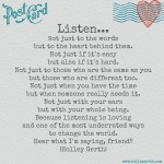 Listen by Holley Gerth