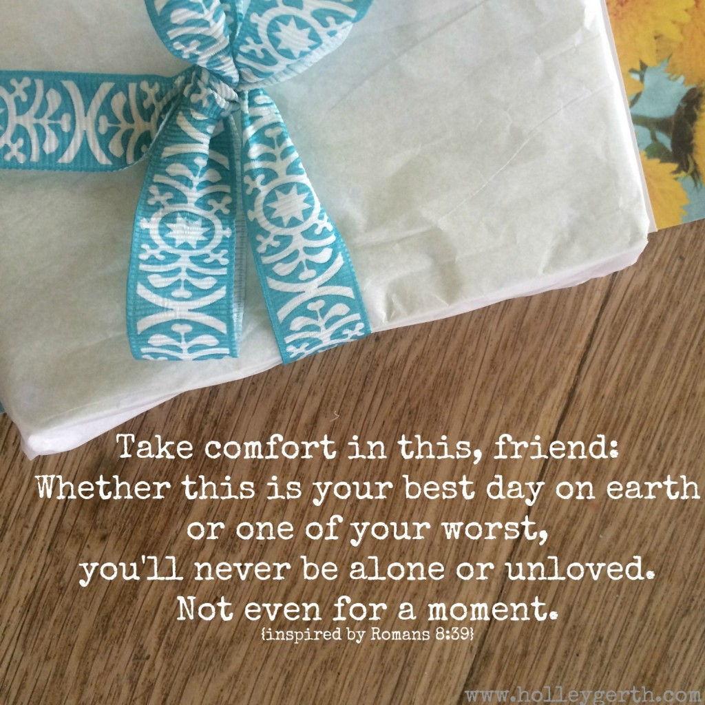 Take comfort by Holley Gerth