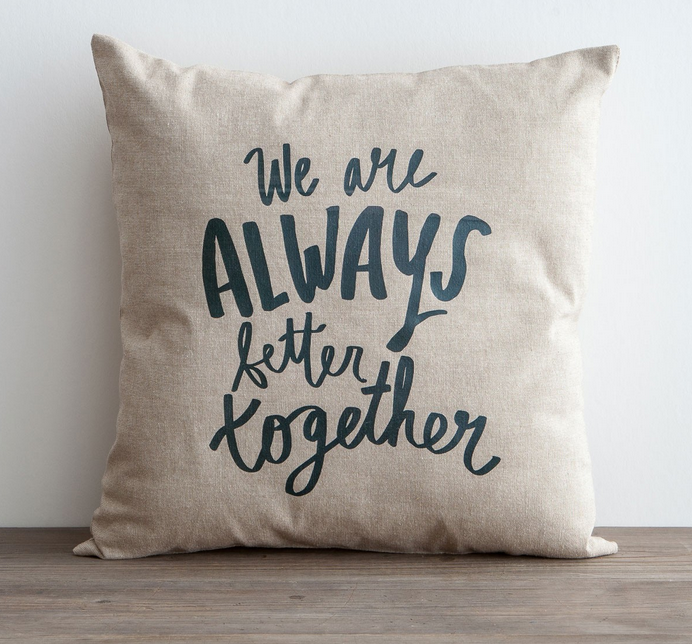 Better Together Pillow by DaySpring