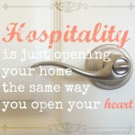Hospitality by Holley Gerth
