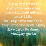 Dive into the Dream by Holley Gerth