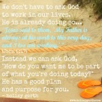 God is Working by Holley Gerth