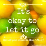 Let it go by Holley Gerth