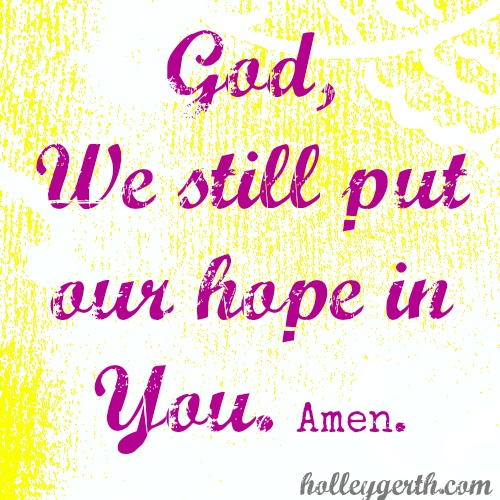 Put Our Hope by Holley Gerth
