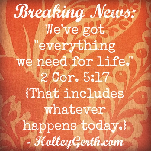 Whew. So glad this is true. #CoffeeForYourHeart from HolleyGerth.com