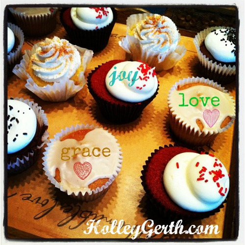 Joy Love Grace by HolleyGerth.com