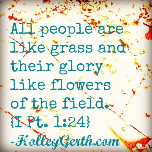 Like Grass by HolleyGerth.com