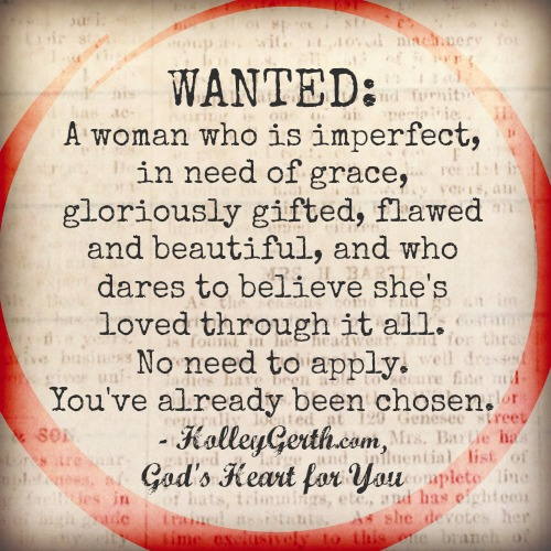 Wanted - God's Heart for You By Holley Gerth