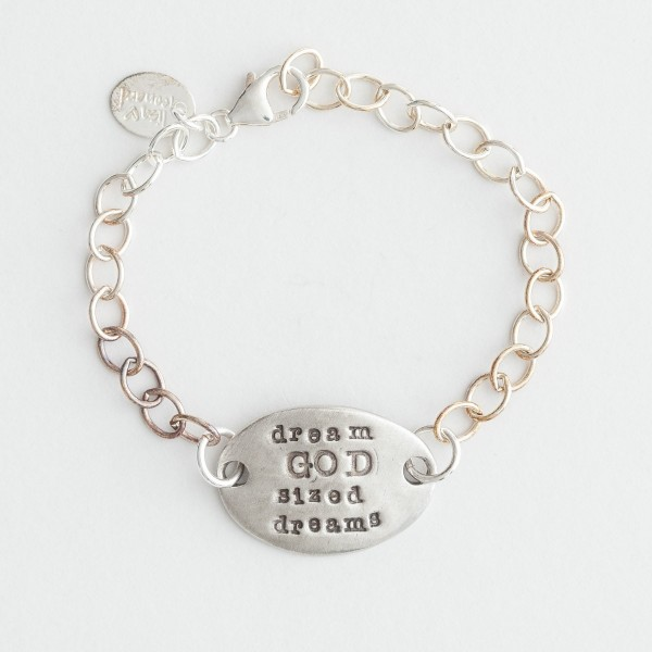 God-sized Dreams Bracelet
