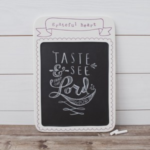 Grateful Heart Memo Chalkboard