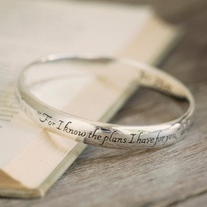 Jeremiah 29:11 Silver Bracelet {over 50% off}