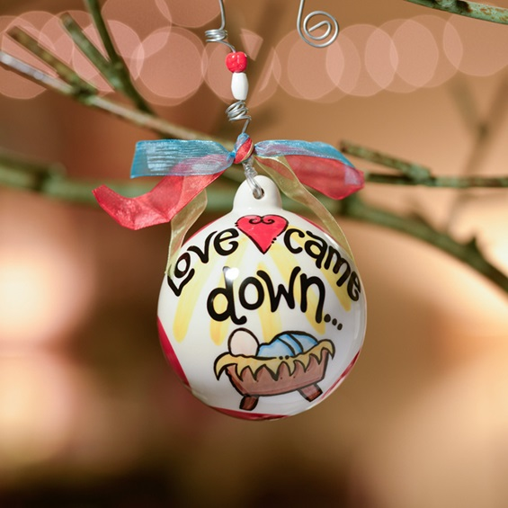 Ornament from the Love Came Down Christmas Collection