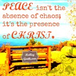 Peace is Christ by HolleyGerth.com