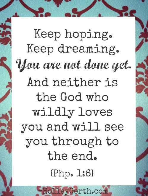 Keep Hoping and Dreaming, Friend