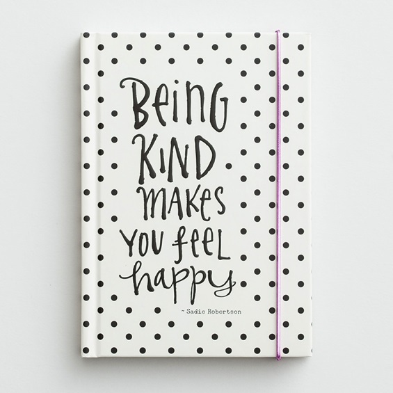 Being Kind Make You Feel Happy Journal by DaySpring