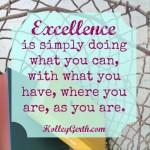 PursueExcellence