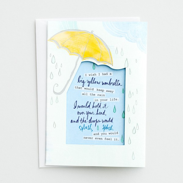 Big Yellow Umbrella Card by DaySpring