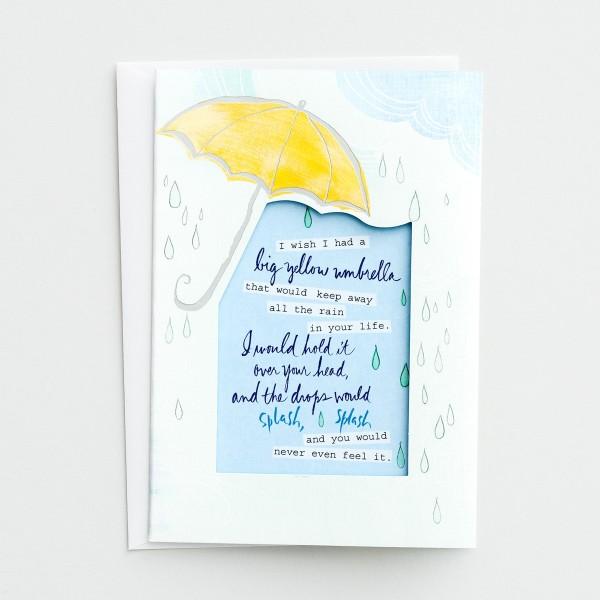 Big Yellow Umbrella Card by DaySpring