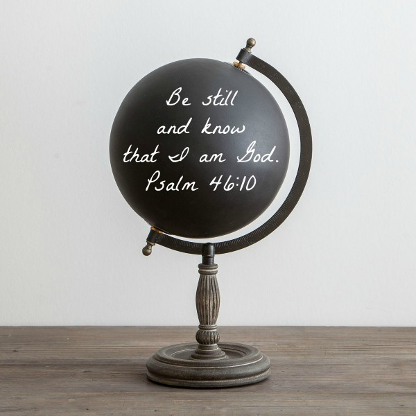(in)courage Chalkboard Globe