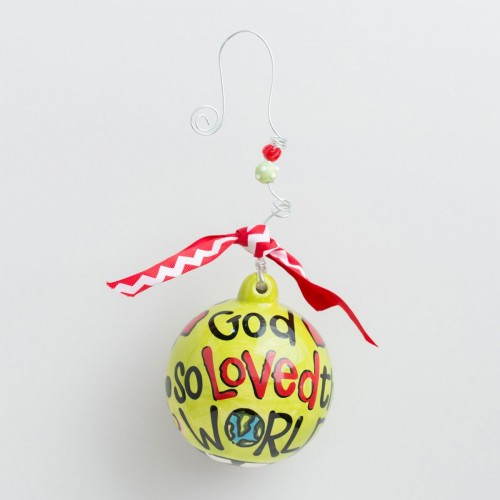 God So Loved The World ornament