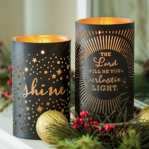 Everlasting Light - Inspirational Candle Holder Set