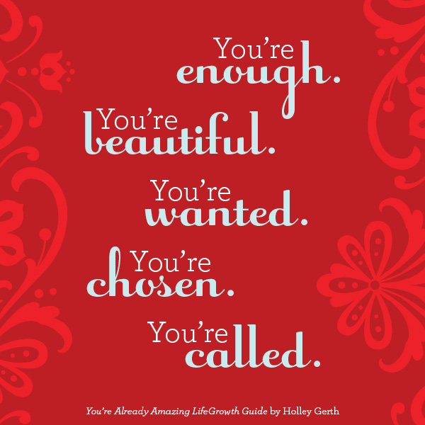 Your Amazing: You're Already Amazing {Book, LifeGrowth Guide, Devotional