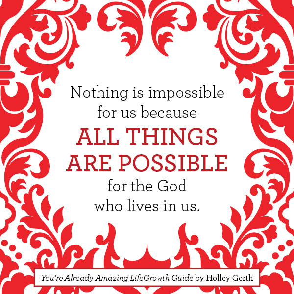 You Re All Amazing: When You Really Want God's Best For Your Life