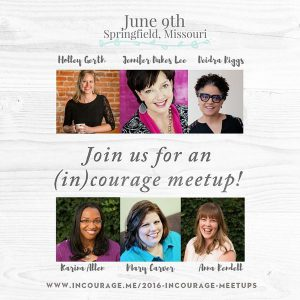 (in)courage meetup