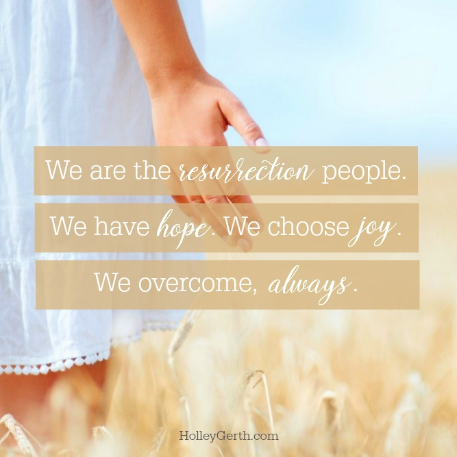 We are the Resurrection People