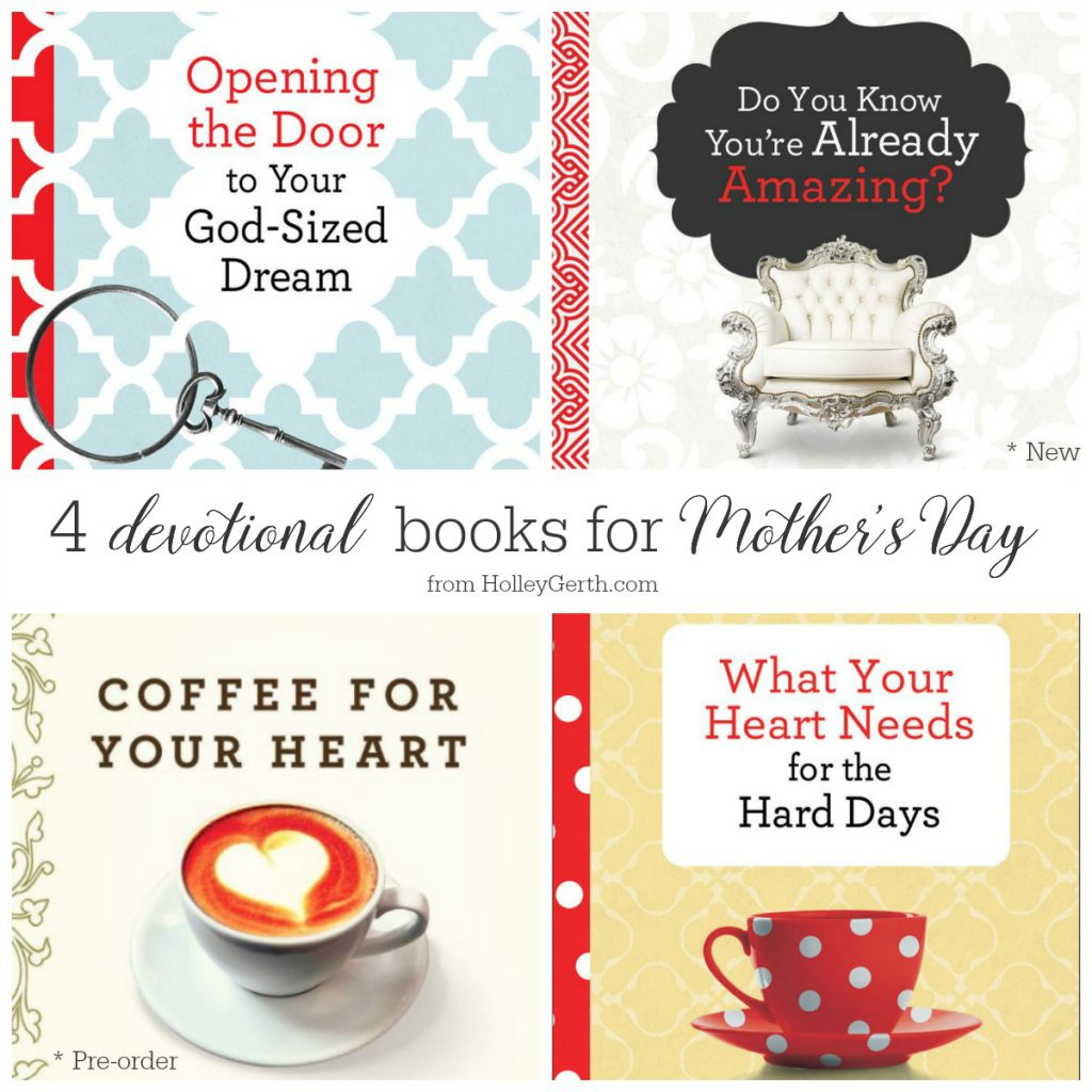encouraging books for every woman in your life...