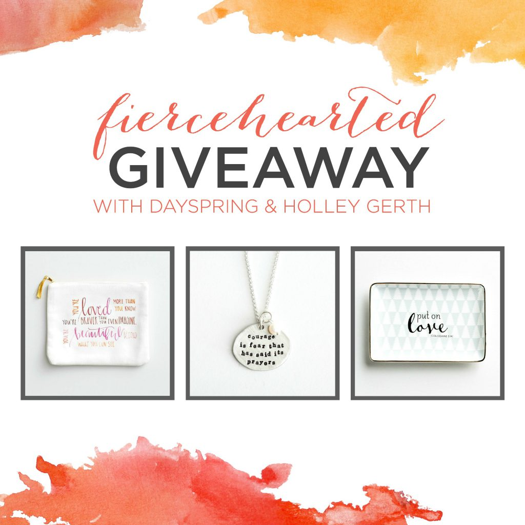 Fiercehearted giveaway