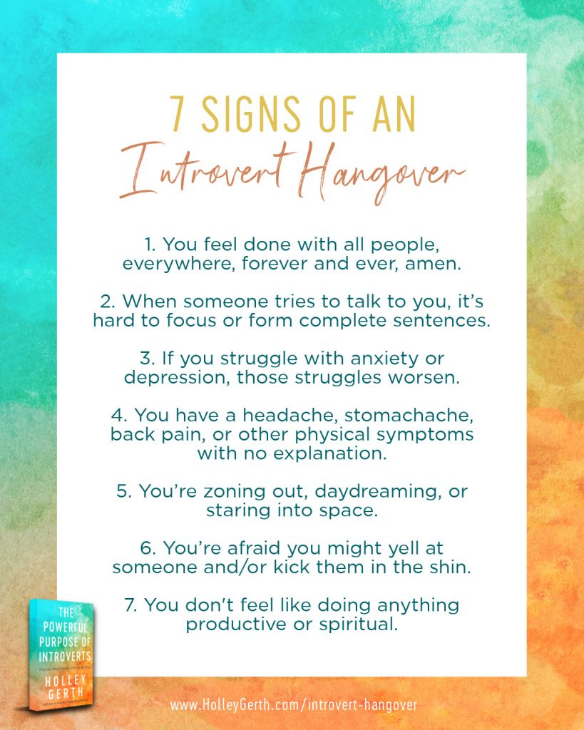 7 Signs of an Instagram Hangover