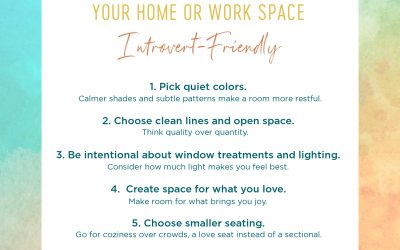 6 Simple Ways to Make Your Home or Work Space Introvert-Friendly