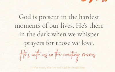God is with you even in the hardest moments of your life
